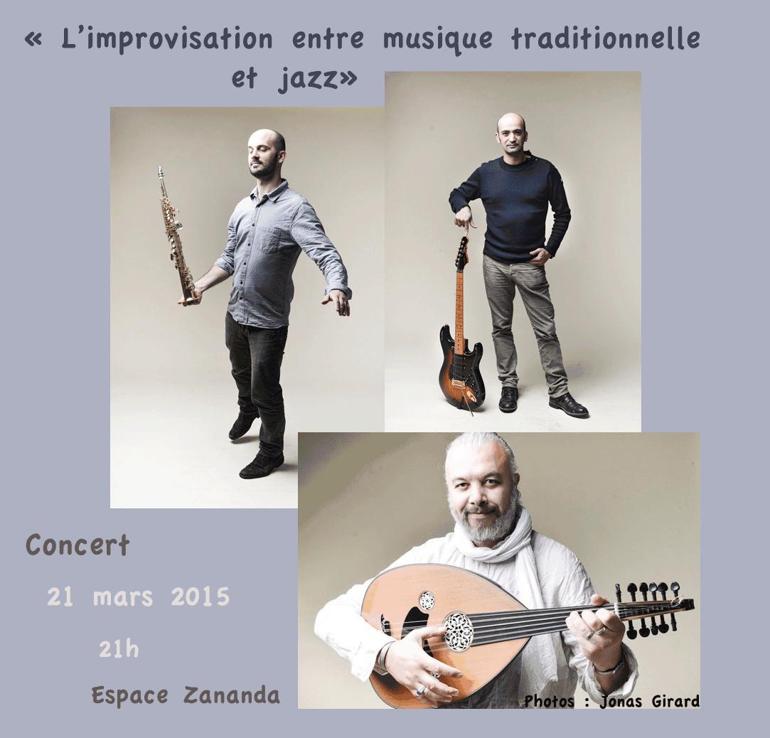 L'improvisation entre musique traditionnelle et jazz