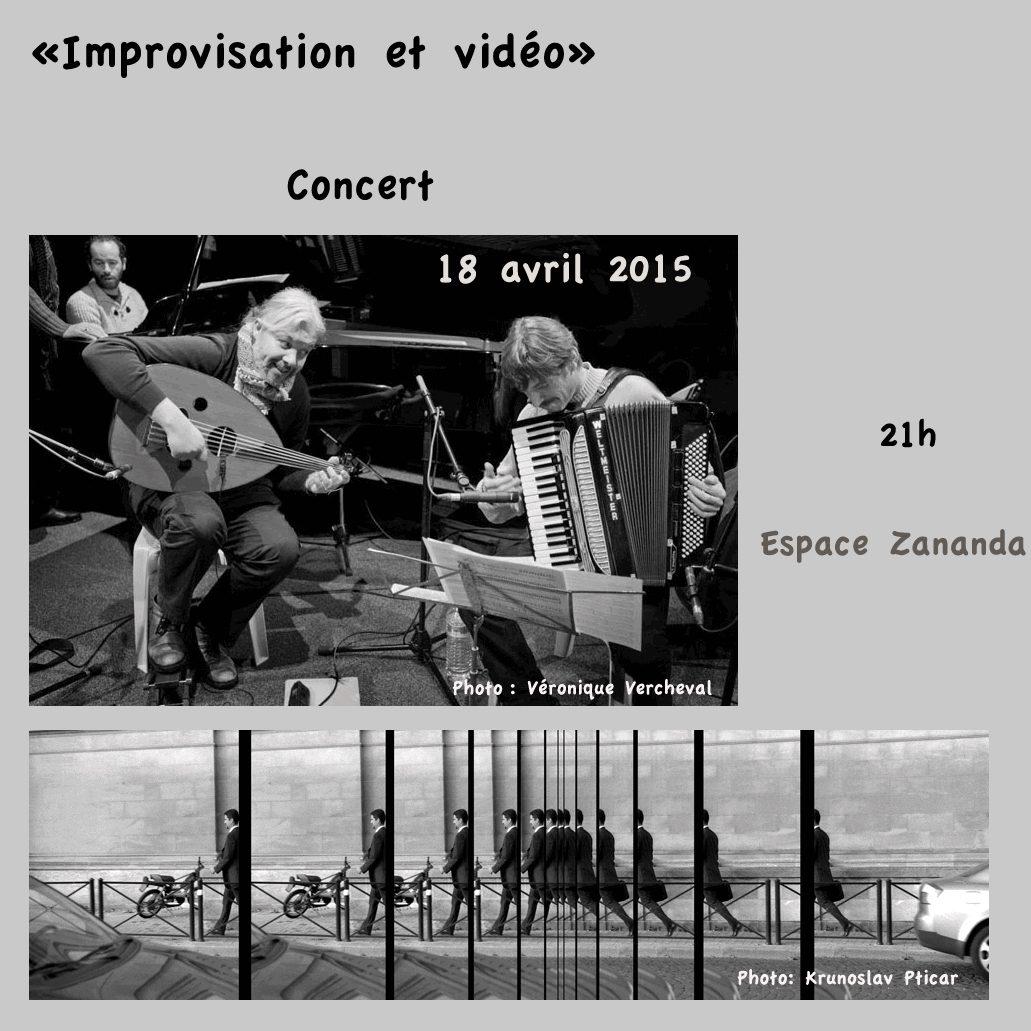 IMPROVISATION ET VIDEO